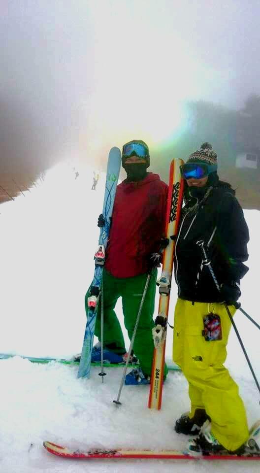 スキー 2日目